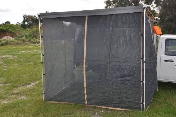 "Mosquito Awning Walls For Easy-Out Side Awning - For 98.4"" (2.5m) Awning - by Front Runner Outfitters"