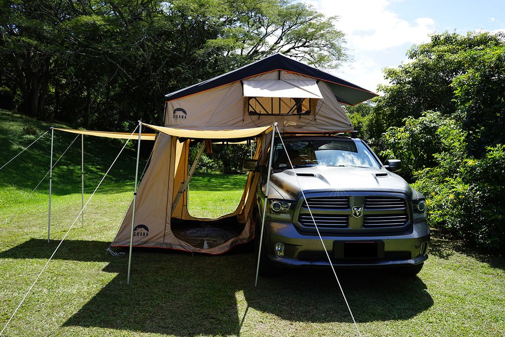 Guana Equipment Wanaka Roof Top Tent With Xl Annex Free