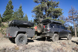 side view of Overlander Trailer -  Lightweight Off Road Trailer - by Go FSR