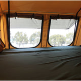 inside view of Elite 5 Person Roof Top Tent With Annex Room Included - by Tuff Stuff