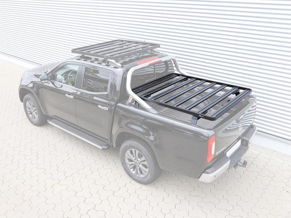 Front Runner Slimline II Bed Rack For Mercedes-Benz X-Class W/ MB Style Bars 2017-Current
