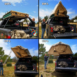 opening the Ranger Roof Top Tent - 3 Person Capacity - Annex Included - by Tuff Stuff