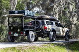 Overlander Trailer -  Lightweight Off Road Trailer - by Go FSR carrying a roof top tent