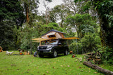 toyota prado and Guana Equipment Wanaka Roof Top Tent With XL Annex