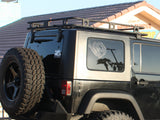 Defender Roof Rack Kit - Fits 2007-2016 Jeep JK Wrangler Unlimited & Rubicon Unlimited - by Smittibilt