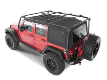 Smittybilt SRC Roof Rack For 2007-2016 Jeep Wrangler Unlimited & Rubicon Unlimited