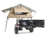 scout trailer by smittybilt with roof top tent