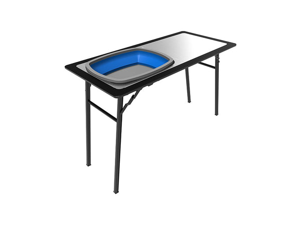 Pro Stainless Steel prep Table W/ Foldable Basin - by Front Runner Outfitters