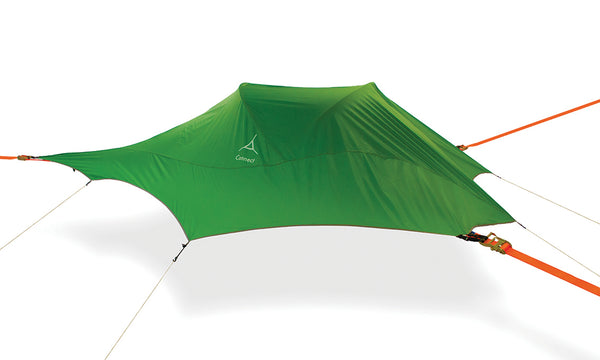 forest green Connect 2 Person Tree Tent - 15 Min Set Up - by Tentsile