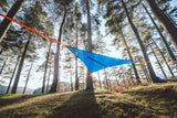 view from below of T-Mini Double Hammock - Lightweight - Fits 2 People - by Tentsile