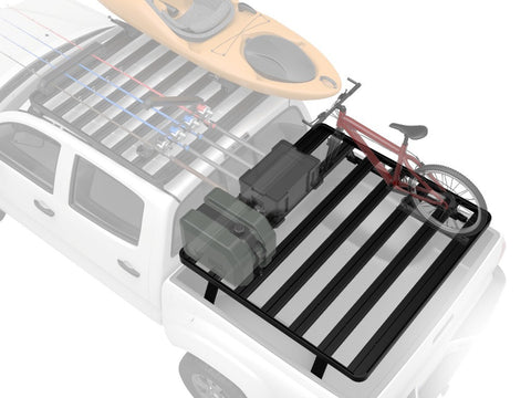 Slimline II Load Bed Rack Kit For Toyota Tundra Pick-Up Truck (1999-Current) - by Front Runner Outfitters