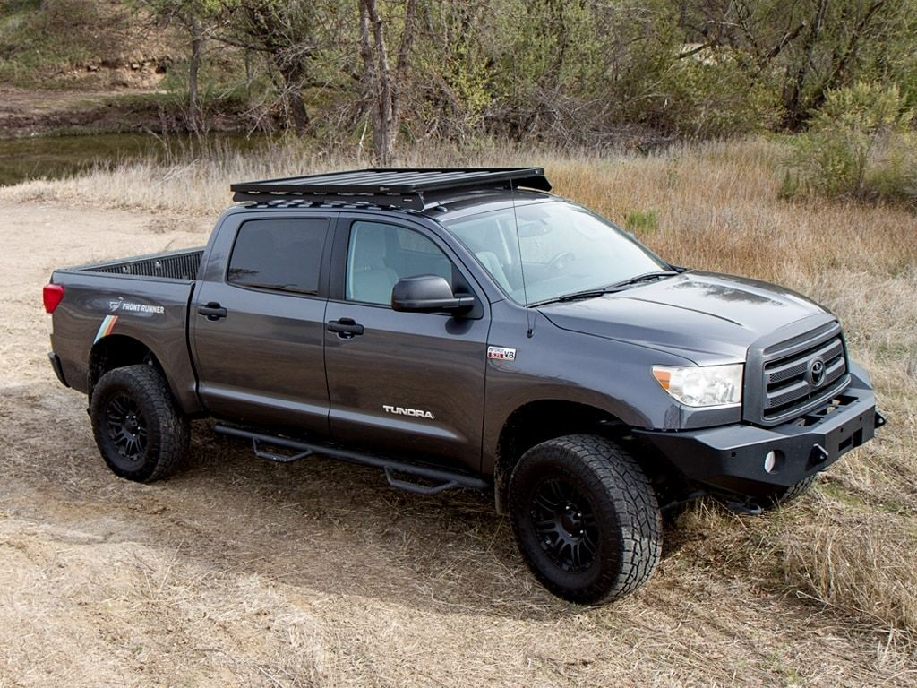 Front Runner Slimline Ii Low Profile Roof Rack Toyota Tundra Crew Max Off Road Tents