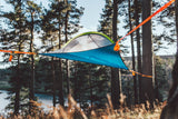 view from below of UNA Single Person Tree Tent - Lightest Tent Available - Ideal For Hikers - by Tentsile