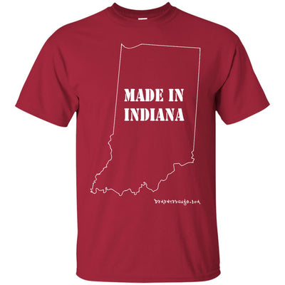 Made in Indiana Dark T-shirts