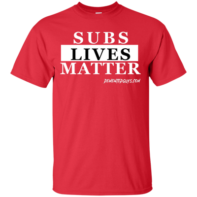 SUBS LIVES MATTER SHORT SLEEVE T-Shirt