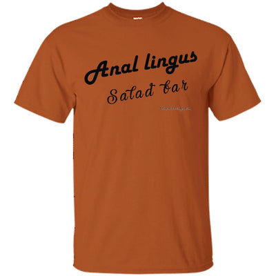 Anal Lingus Salad Bar Light T-shirts