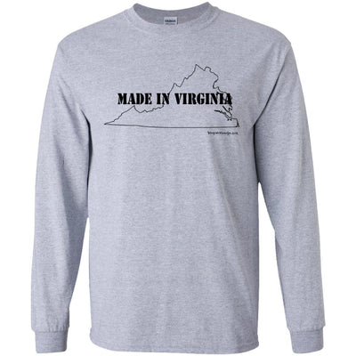 Made In Virginia Long Sleeve Light T-Shirts