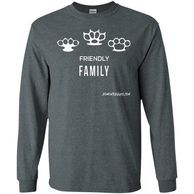 Friendly Family Long Sleeve T-Shirt