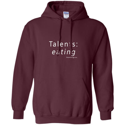 Talents Eating Hoodies