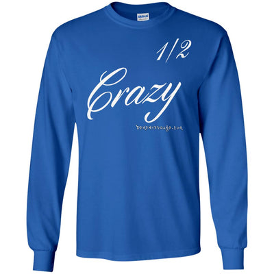 Half Crazy Long Sleeve Dark T-shirts
