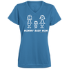 Mommy Baby Mom V-neck T-Shirt
