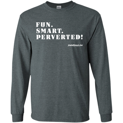 Fun Smart Perverted Long Sleeve T-Shirt