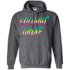 Coconut Grove 80's Style Pullover Hoodie 8 oz.