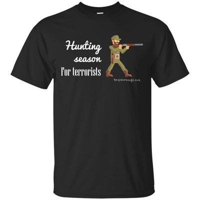 Hunting Season for Terrorist Dark T-shirts