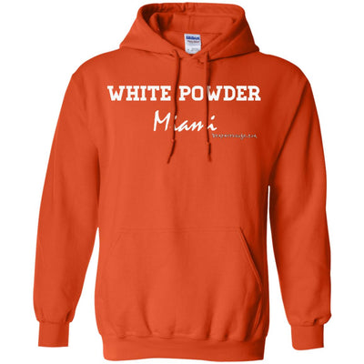 White Powder Miami Hoodies