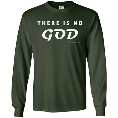 There is No God Long Sleeve Dark T-shirts