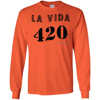 La Vida 420 Long Sleeve Light T-shirts