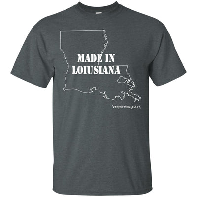 Made In Louisiana Dark T-shirts