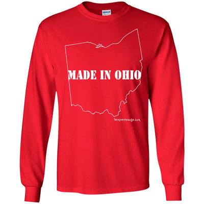 Made In Ohio Long Sleeve Dark T-shirts