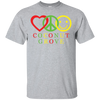 Peace Love Happiness Coconut Grove Short Sleeve T-Shirt