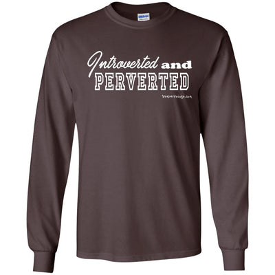 Introverted And Perverted Long Sleeve Dark T-shirts