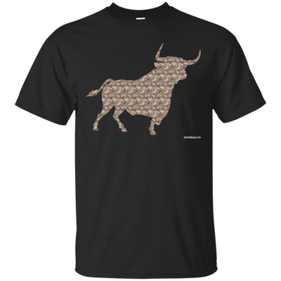 Camo Bull Short Sleeve T-shirt