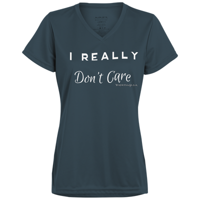 I Really Don't Care V-neck T-Shirt