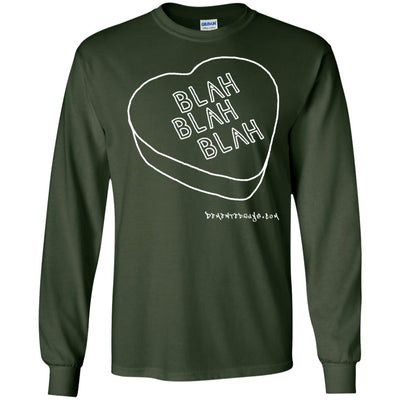 Candy Blah Blah Long Sleeve Dark T-shirts