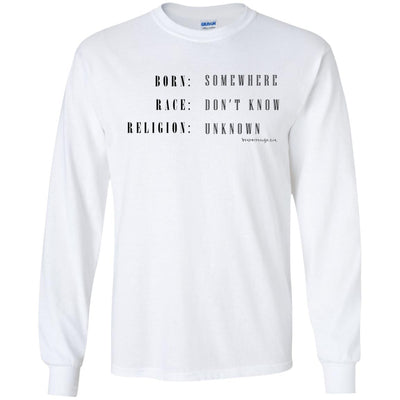 b somewhere b Long Sleeve Light T-shirts