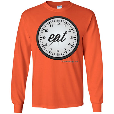 Eat Time Long Sleeve Light T-shirts