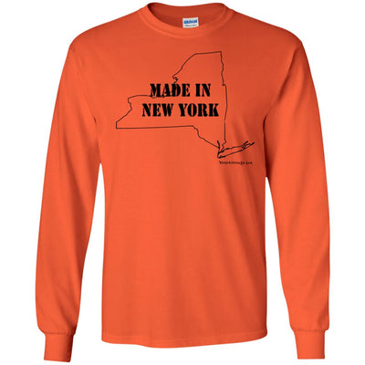 Made In New York Long Sleeve Light T-Shirts