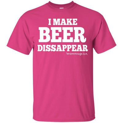 I Make Beer Disappear Dark T-shirts