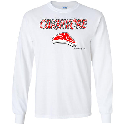 Carnivore Long Sleeve Light T-shirts