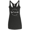 Yes I Am Cold My Nipples Gave Me Away Racerback Tank T-shirts