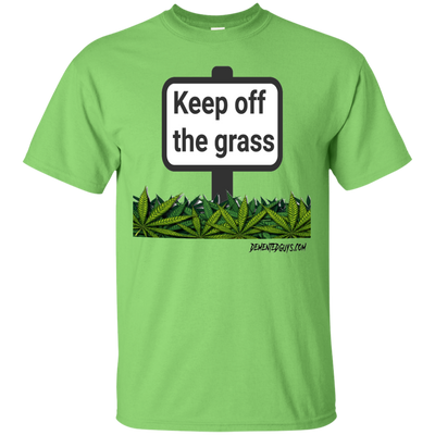 Keep Off The Grass Short Sleeve T-Shirt