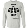 Modern Day Orgy Long Sleeve T-shirt