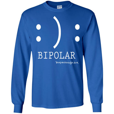 Bipolar Long Sleeve Dark T-shirts