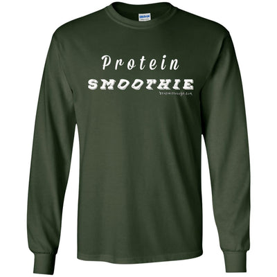 Protein Smoothie Long Sleeve Dark T-shirts