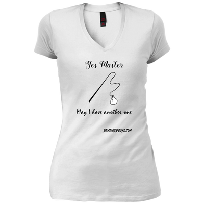 Yes Master May I Have Another One V-Neck T-Shirt