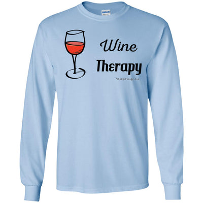 Wine Therapy Long Sleeve Light T-shirts